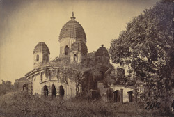 General view of the Awasghar Temple, Medinipur [Midnapur] 1000333427